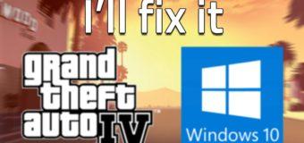 Установка гта 4 на Windows 10