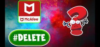 Как полностью удалить mcafee с Windows 10