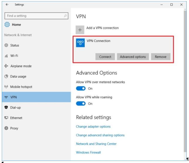 Windows vpn server windows 10