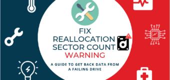 Как исправить Reallocated sector count