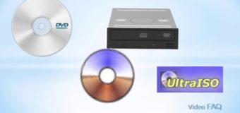 Запись образа на диск в Windows 10